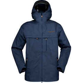 Norrøna M's Svalbard Cotton Jacket Indigo Night